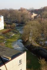 Widok z wieży Muzeum Kamieni w Kamieniu Pomorskim
