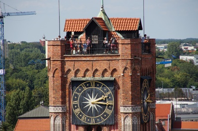 Toruń, Katedra św. Janów, panorama miasta
