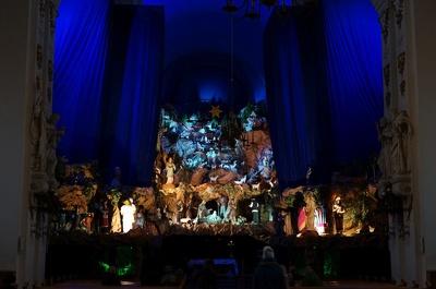 Szopka bożonarodzeniowa w Kościele Św. Franiciszka Serafickiego