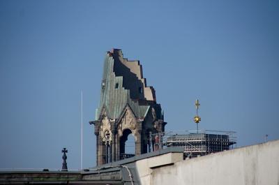 Berlin - kościół Pamięci Cesarza Wilhelma